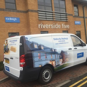 Radliegh Homes digital wrap